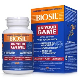 BIOSIL COLLAGEN BIOSIL ON YOUR GAME (60 CAPS)