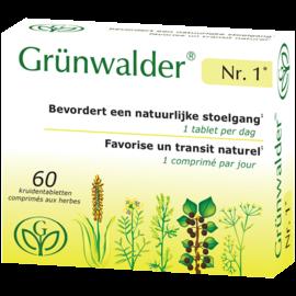 GRÜNWALDER Nr. 1 GRÜNWALDER NR. 1 TRANSIT NATUREL (60 COMPRIMÉS AUX HERBES)