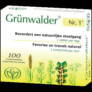 GRÜNWALDER Nr. 1 GRÜNWALDER NR. 1 TRANSIT NATUREL MAXI (100 COMPRIMÉS AUX HERBES)