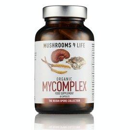 MUSHROOMS 4 LIFE MYCOMPLEX COMPLÉMENT CHAMPIGNON BIO (60 V-CAPS)