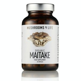 MUSHROOMS 4 LIFE MAITAKE BIOLOGISCH PADDENSTOELENSUPPLEMENT (60 V-CAPS)