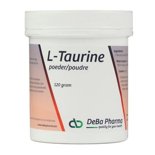 DEBA PHARMA HEALTH PRODUCTS L-TAURINE POUDRE (120 G)