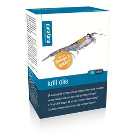 PURASANA NATURAL PROTECTION KRILL OLIE + CHOLINE & ASTAXANTHINE 500 MG (60 CAPS)