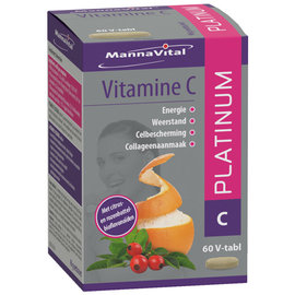 MANNAVITAL NATURAL PRODUCTS VITAMINE C 1000 + BIOFLAVONOÏDEN PLATINUM (60 V-CAPS)