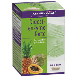 MANNAVITAL NATURAL PRODUCTS DIGEST-ENZYME FORTE (60 V-CAPS)