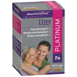 MANNAVITAL NATURAL PRODUCTS FER PLATINUM (60 V-CAPS)