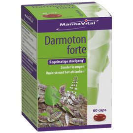 MANNAVITAL NATURAL PRODUCTS DARMOTON FORTE REGELMATIGE STOELGANG (60 CAPS)