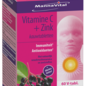 MANNAVITAL NATURAL PRODUCTS VITAMINE C + ZINK MET VLIERBESEXTRACT  (60 KAUWTABLETTEN)