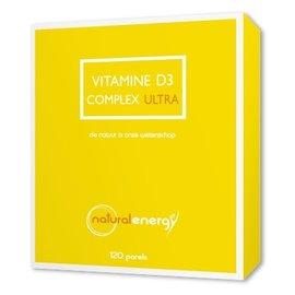 NATURAL ENERGY VITAMINE D COMPLEX ULTRA (120 PARELS)