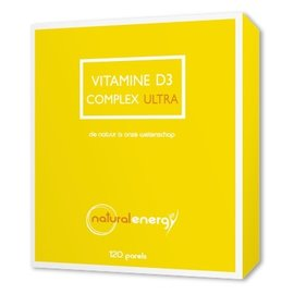 NATURAL ENERGY VITAMINE D COMPLEX ULTRA (120 PERLES)