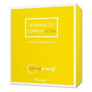 NATURAL ENERGY VITAMINE D COMPLEX ULTRA (120 PERLES)