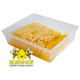 BIJENHOF BEE PRODUCTS ZUIVERE RAUWE RAATHONING (400 G)