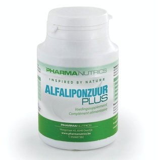 PHARMANUTRICS INSPIRED BY NATURE ALFALIPONZUUR PLUS (60 V-CAPS)