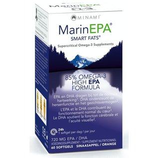 MINAMI NUTRITION OMEGA 3 MINAMI MARINEPA SMART FATS FORMULE EPA 85% OMÉGA 3 EPA (60 SOFTGELS)