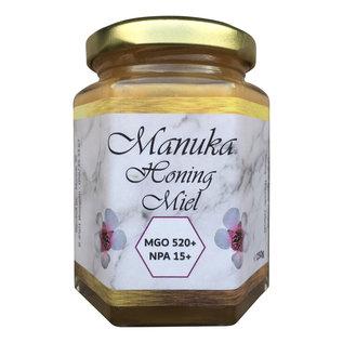 BIJENHOF BEE PRODUCTS MIEL DE MANUKA MGO 520+ UMF 15 (250 G)