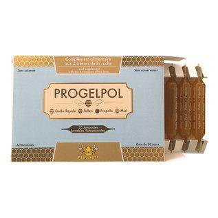 BIJENHOF BEE PRODUCTS PROGELPOL AMPULLEN MET 4 SCHATTEN VAN DE BIJENKORF (20 AMPULLEN X 10 ML)
