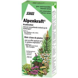 SALUS HAUS ALPENKRAFT ÉLIXIR À BASE DE PLANTES POUR LE SYSTÈME RESPIRATOIRE (250 ML)