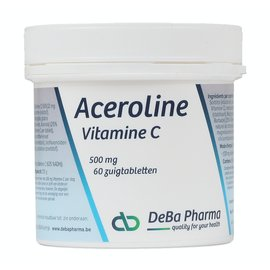 DEBA PHARMA HEALTH PRODUCTS ACEROLINE 500 VITAMINE C (60 ZUIGTABLETTEN)