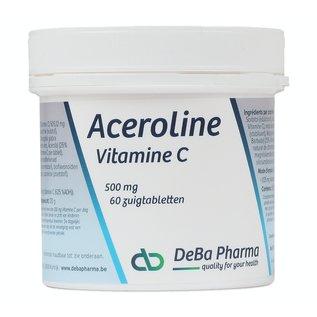 DEBA PHARMA HEALTH PRODUCTS ACEROLINE 500 VITAMINE C (60 ZUIGTABLETTEN)