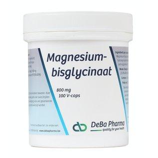 DEBA PHARMA HEALTH PRODUCTS MAGNÉSIUM BISGLYCINATE - ABSORPTION MAXIMALE (100 V-CAPS)