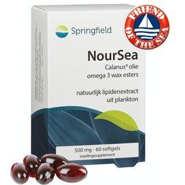 SPRINGFIELD NUTRACEUTICALS NOURSEA CALANUS OLIE 500 MG OMEGA 3 WAX ESTERS (60 SOFTGELS)