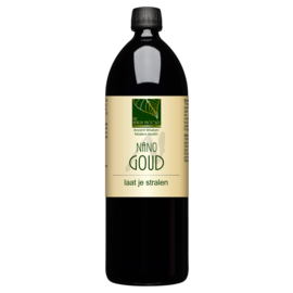 THE HEALTH FACTORY NANO MINERALS NANO GOUD - NANO MINERAALWATER (1000 ML)