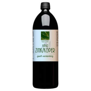 THE HEALTH FACTORY NANO MINERALS NANO ZINK/KOPER - NANO MINERAALWATER (1000 ML)