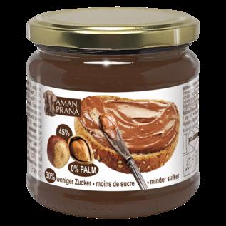 AMANPRANA I LOVE BELGIUM CHOCO-HAZELNOOTPASTA (400 G)