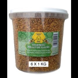 BIJENHOF BEE PRODUCTS POLLEN GRAINS (6 X 1 KG)
