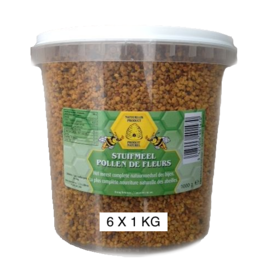 BIJENHOF BEE PRODUCTS STUIFMEELPOLLEN - BIJENPOLLEN (6 X 1 KG)