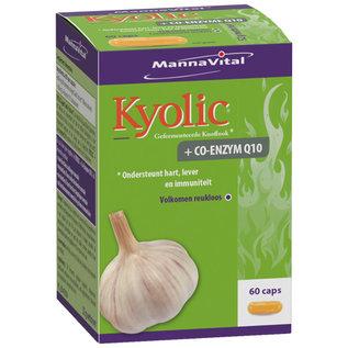 MANNAVITAL NATURAL PRODUCTS KYOLIC GEFERMENTEERDE LOOK + CO-ENZYM Q10 (60 CAPS)