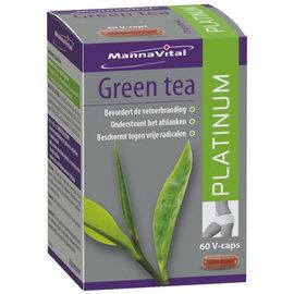 MANNAVITAL NATURAL PRODUCTS GREEN TEA PLATINUM - THÉ VERT (60 V-CAPS)