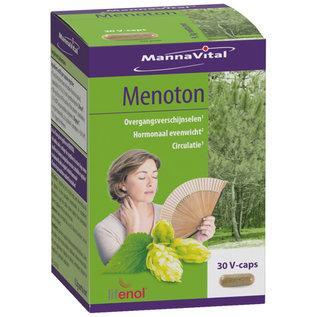 MANNAVITAL NATURAL PRODUCTS MENOTON - MÉNOPAUSE (30 V-CAPS)
