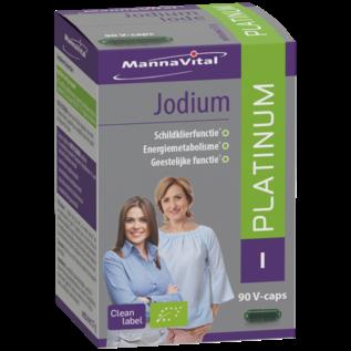 MANNAVITAL NATURAL PRODUCTS JODIUM PLATINUM BIO (90 V-CAPS)