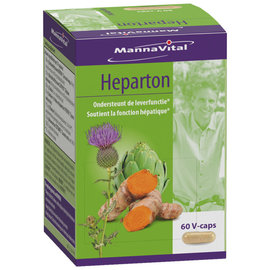 MANNAVITAL NATURAL PRODUCTS HEPARTON - SOUTIENT LA FONCTION HÉPATIQUE (60 V-CAPS)