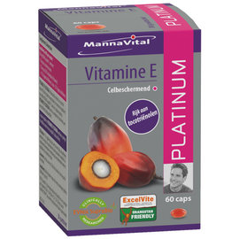 MANNAVITAL NATURAL PRODUCTS VITAMINE E PLATINUM (60 CAPS)