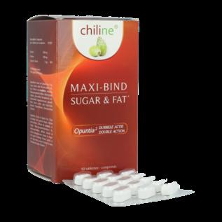 CHILINE FATBURNER MAXI-BIND SUCRE & GRAISSE (90 COMPRIMÉS)