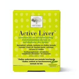 NEW NORDIC  ACTIVE LIVER NORMALE LEVERFUNCTIE (60 TABLETTEN)