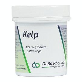 DEBA PHARMA HEALTH PRODUCTS KELP 126 MCG JODIUM (100 V-CAPS)