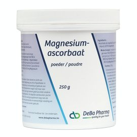 DEBA PHARMA HEALTH PRODUCTS MAGNESIUMASCORBAAT (250 G)