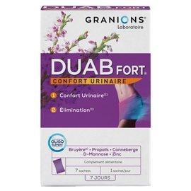 GRANIONS LABORATOIRE DUAB FORT - URINAIR COMFORT (7 ZAKJES)