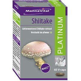 MANNAVITAL NATURAL PRODUCTS SHIITAKE PLATINUM (60 V-CAPS)