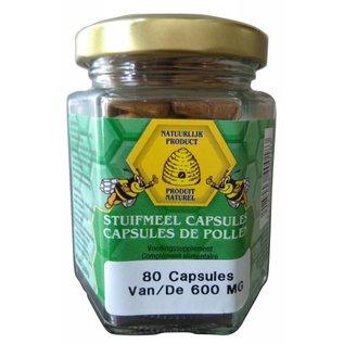 BIJENHOF BEE PRODUCTS STUIFMEEL (80 CAPS)