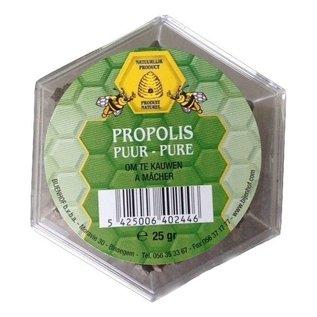 BIJENHOF BEE PRODUCTS PROPOLIS PUUR OM TE KAUWEN - KAUWPROPOLIS (25 G)