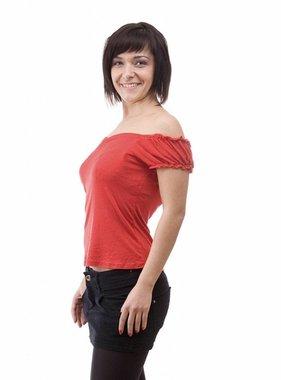 Arvind Crazy Red Women Top