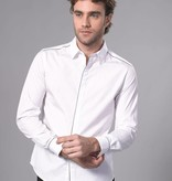 Arvind Das Hemd der Männer Weiß