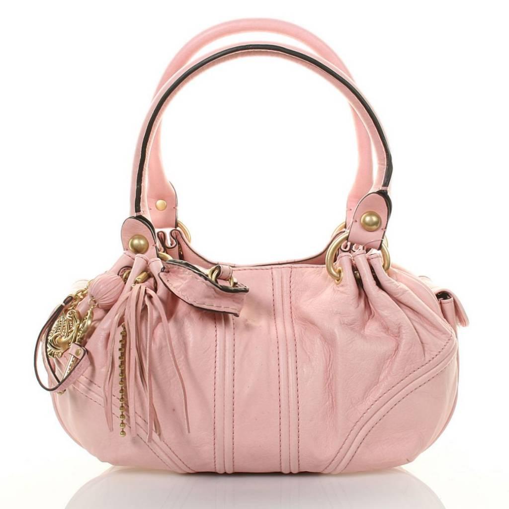Dream Center Damenledertasche - Rosa