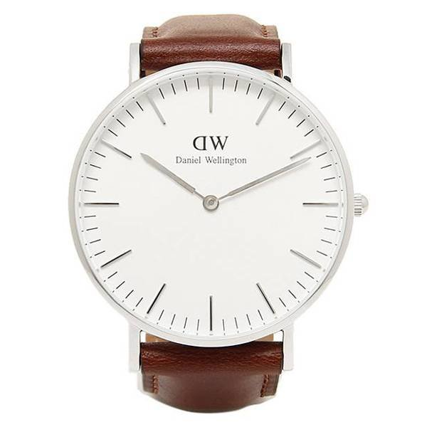 DW00100052 Classic St. Mawes Zilver 36mm