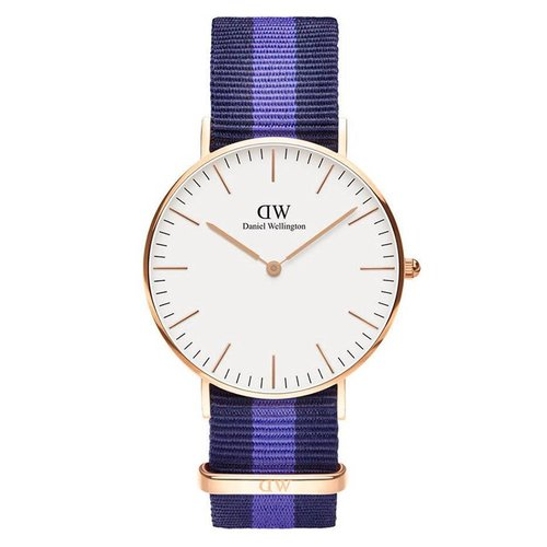 Daniel Wellington DW00100032 Classic Swansea Rose Goud 36mm