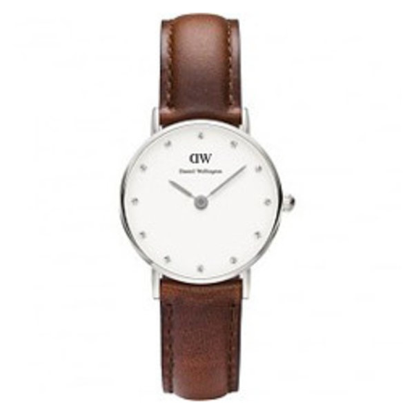 DW00100067 Classy St. Mawes Zilver 26mm